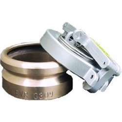 2 Inch Tank Monitor Cap & Adapter With 3/8 Inch Threaded Porthole And Cable Connector