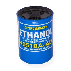 10 Micron Ethanol Alert Series Particulate Removal And Phase Separation Detection Spin-On Petroleum Dispenser Filter, 4 x 5 Inch Length, 1-1/2 Inch-16 UNF Thread, 1 Inch Flow