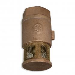 1/2 Inch Single Poppet Brass Foot Valve