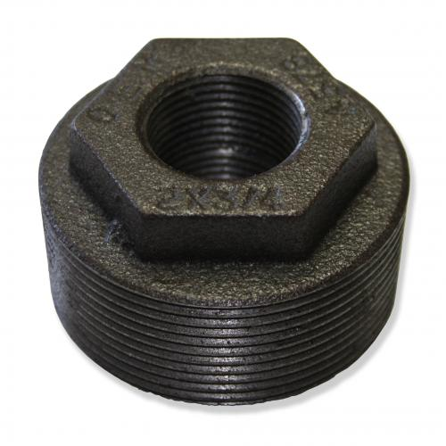 2 Inch X 3/4 Inch X 3/4 Inch Double Tapped Bushing Evr Approved