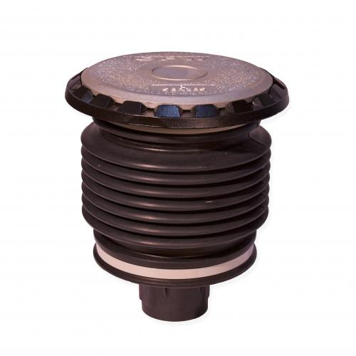 Threaded, 5 Gallon Fill/Spill Containment Manhole Duratuff II Base With Cast Iron Cover With Drain Valve (E85 Approved)