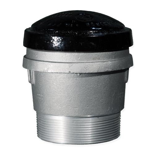 4 Inch 8 Ounce Per Square Inch Emergency Vent - Male NPT With Viton A O-Ring