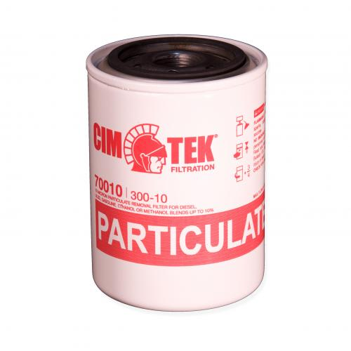 10 Micron Spin-On Fuel Filter - 3/4 Inch Flow