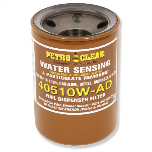 10 Micron Filter 4X5 Petro Clear Water Sensing - 1 Inch Flow