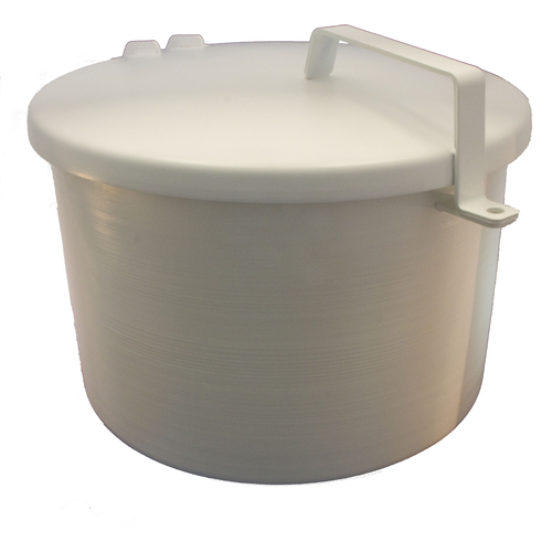 4 Inch 7-1/2 Gallon Ast Spill Container With Drain
