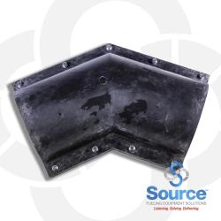 6 Inch 45 Degree Elbow (2 Piece)
