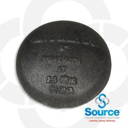 2 Inch Black Mushroom Type Air Vent
