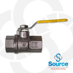 1/2 Inch Stainless Steel Ball Valve  T100