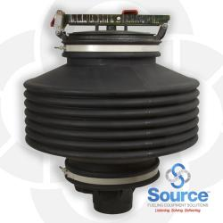 15 Gallon Below Grade Spill Containment Manhole With Duratuff Ii Base - Composite Cover - Slip On