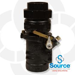 2  Inch Union Single Poppet Emergency Shut-Off Valve