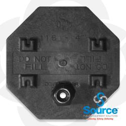4 Inch Probe Cap With 3/8 Inch Grommet