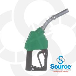 Green Leaded / Diesel Nozzle Without Hold Open Clip 3/4 Inch Inlet