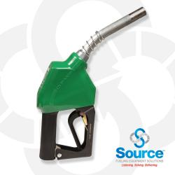 Green Unleaded Nozzle Without Hold Open Clip 3/4 Inch Inlet