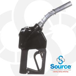 11BP-0400 - Prepay Black Unleaded Nozzle With Hold Open Clip 3/4 Inch Inlet