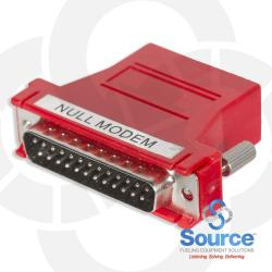 DB25M Null Modem Adapter