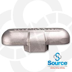 2 Inch Tee Double Outlet Vent Threaded Female NPT