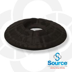 Black Waffle Splash Guard - Small Hole