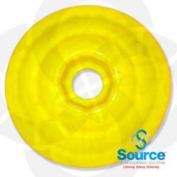 Yellow Waffle Splash Guard - Small Hole