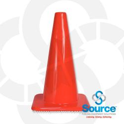 18 Inch Traffic Cone Non Reflective