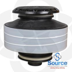 15 Gallon Fill/Spill Containment Manhole Cast Iron Base Cast Iron Cover With Drain Valve