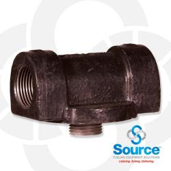 Cast Iron Filter Adaptor - 1 Inch NPT Inlet And Outlet (50002)