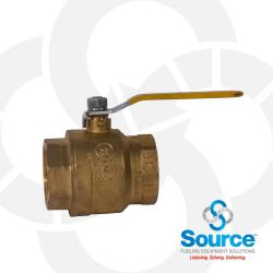 2 Inch Full Port 2-Way Ball Valve
