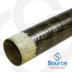 2 Inch X 20 Foot Dualoy 3000/L Singlewall Fiberglass Pipe Tapered (Order In 20 Foot Lengths)