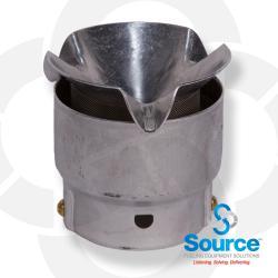 2 Inch Open Vent Upward Aluminum