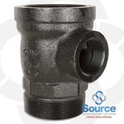 Suction Tube Extractor Fitting 4 Inches X 2 Inches X 4 Inches