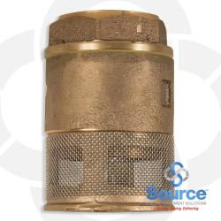 1-1/2 Inch Single Poppet Foot Valve