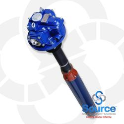 5 HP 6 Inch 3-Phase 208-230 Volt AC High-Capacity 144 Inch Fixed-Length Submersible Turbine Pump With 24 Inch Riser (STP5-144-24)