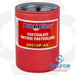 10 Micron Filter 4X5 Petro Clear - 1 Inch Flow