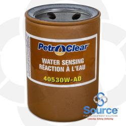 30 Micron Filter 4X5 Petro Clear Water Sensing - 1 Inch Flow