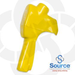 Yellow Full Grip Nozzle Scuff Guard With E15 Logo For X Xs Xfs Nozzles