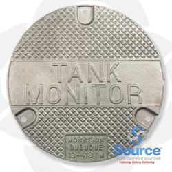 Lightweight Cast Iron Tank Monitor Lid