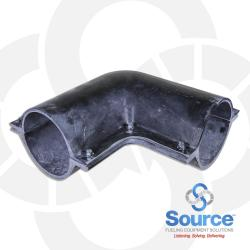 4 Inch Secondary Containment 90 Degree Elbow (2 Piece)