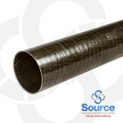 4 Inch X 20 Foot Dualoy 3000/L Singlewall Fiberglass Pipe Square Cut (Order In 20 Foot Lengths)