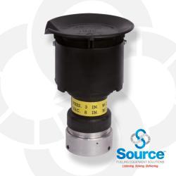 2 Inch Pressure Vacuum Vent Slip On 3 Inch Water Column Pressure 8 Inch Water Column Vacuum