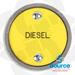 Cast Aluminum Diesel Marker