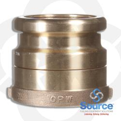 4 Inch Bronze Swivel Fill Adapter