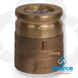 4 Inch Bronze Vapor Swivel Adaptor EVR