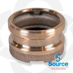 4 Inch X 4 Inch Fill Adapter Bronze Top Seal