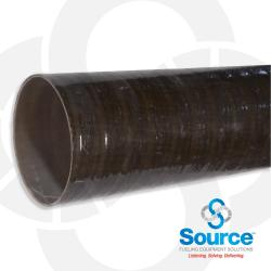 6 Inch X 20 Foot Dualoy 3000/L Secondary Singlewall Fiberglass Pipe Square Cut (Order In 20 Foot Lengths)