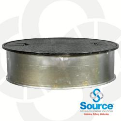 38 Inch Round Manhole With 10 Inch Skirt