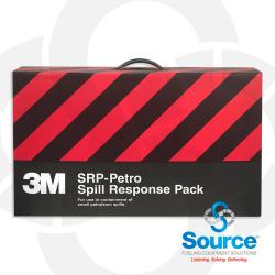 3M Spill Response Pack 5 Gal Capacity (3) 4 Foot Mini-Booms (5) 17X19 Inch Sorbent Pads (1) Poly Bag
