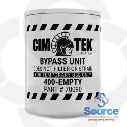 Empty By-Pass Cannister For 400 Series