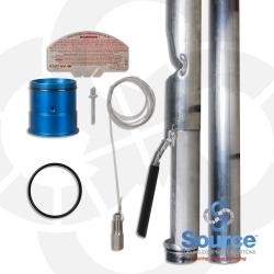 4 Inch Testable Vapor-Tight Overfill Prevention Valve Up To 8 Foot Diameter Tank, 5 Foot Burial Testable