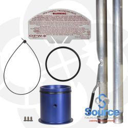 4 Inch Overfill Prevention Valve Up To 12 Foot Diameter Tank 10 Foot Burial