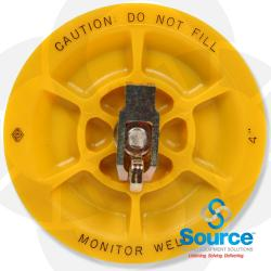 4 Inch Monitoring Well Cap Plug