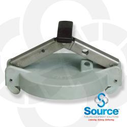 4 Inch Aluminum Top Seal Fill Cap